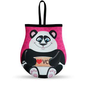 Lixeira para Carro Urso Ursinho Panda eu te Amo