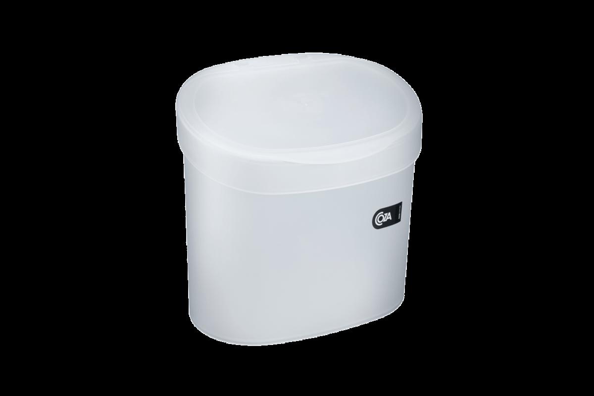 Lixeira para Pia 4 L Basic 22,8 X 15,6 X 22,4 Cm Natural Coza