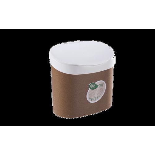 Lixeira para Pia 4 L - Bios 22,8 X 15,6 X 22,4 Cm Bios com Branco Coza