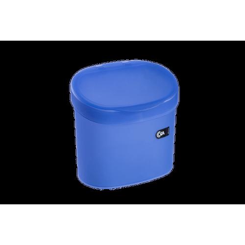 Lixeira para Pia 4 L - Sobre a Pia PP 22,8 X 15,6 X 22,4 Cm Azul Coza