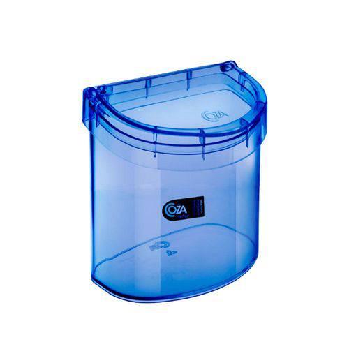 Lixeira para Pia 2,7 Litros Retrô Azul - Coza