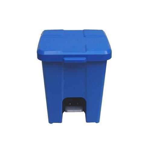 Lixeira Pedal Azul 15 Litros