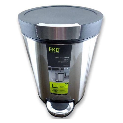 Lixeira Premium em Aço Inox 5 Litros