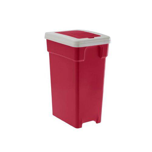 Lixeira Vermelha Selecta Click 20 Lts Ref 753