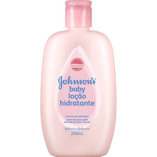 Lo Hid Inf Johnson Baby 200ml-fr Rosa