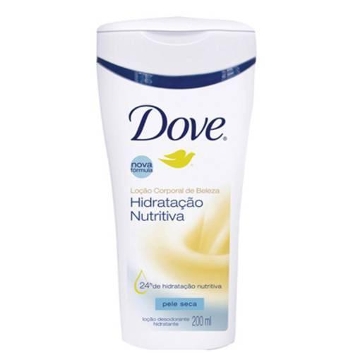 Loção Corporal Dove Hidratação Nutritiva 200ml