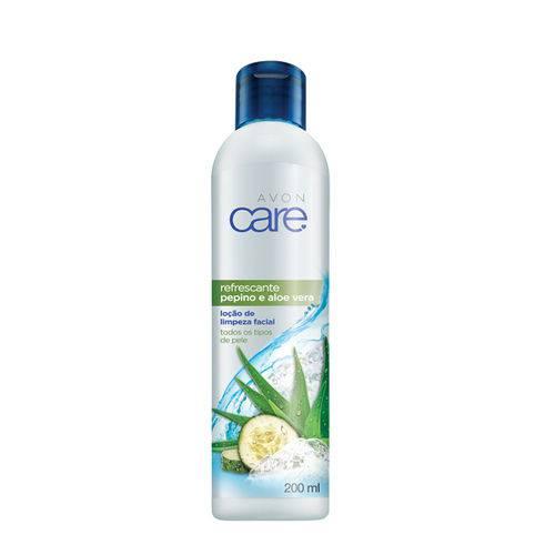 Locao de Limpeza Facial Refrescante Pepino e Aloe Vera