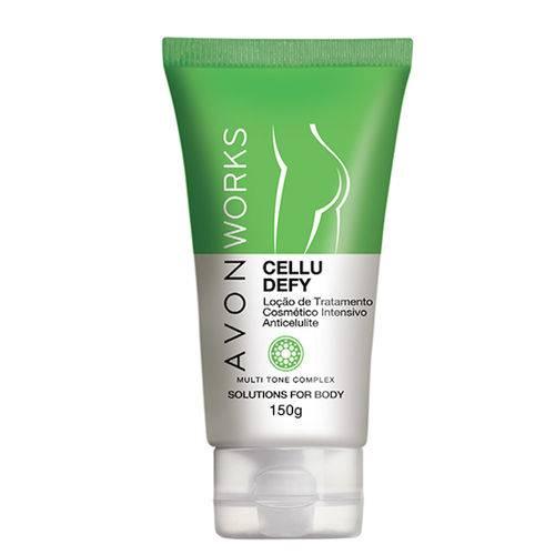 Loção de Tratamento Cosmetico Anticelulite Avon Works 150g