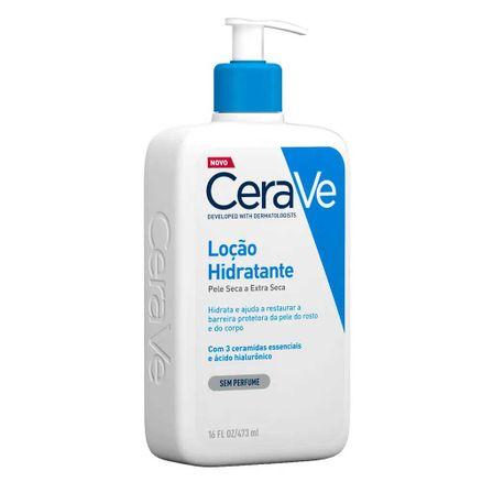 Loção Hidratante Corporal CeraVE Pele Seca a Extra Seca 473ml