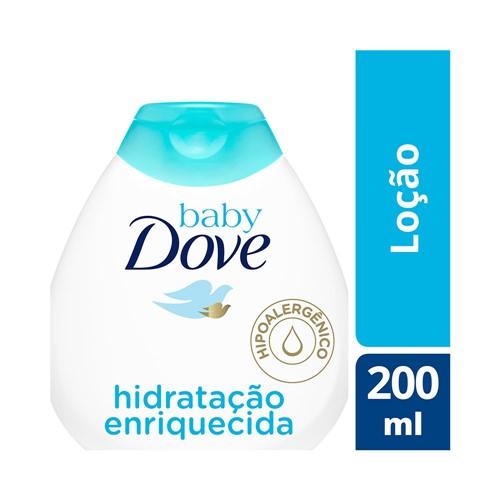 Loção Hidratante Dove Baby Hidratação Enriquecida 200ml