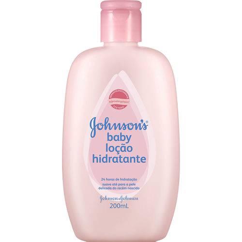 Loção Hidratante Johnson & Johnson Baby