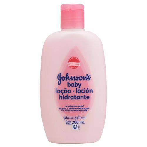 Loção Hidratante Johnson's Baby 200ml