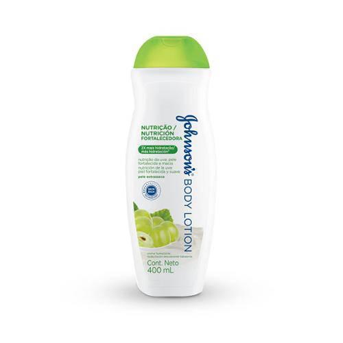 Loção Hidratante Johnsons Body Lotoin Nutrição Fortalecedora Uva Verde