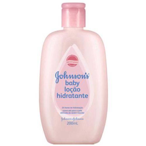 Loção Infantil Johnson & Johnson Baby Hidratante 200ml