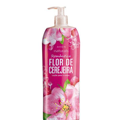Loção para o Corpo Naturals Flor de Cerejeira - 750ml
