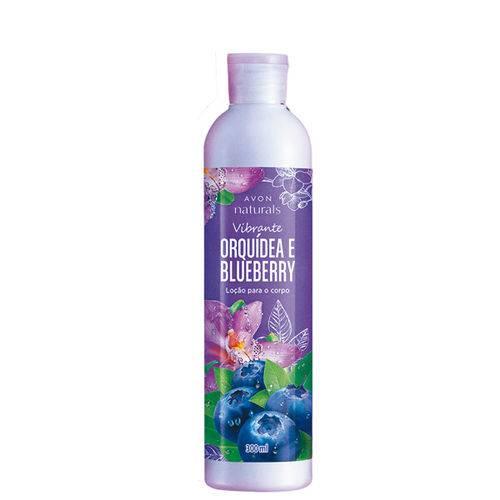 Locao para o Corpo Naturals Orquidea e Blueberry - 300ml