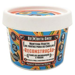 Lola Cosmetics Be(m)dita Ghee Papaya e Queratina Vegetal - Máscara de Reconstrução 100g