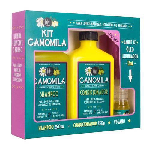 Lola Cosmetics Camomila Kit 3 Produtos 250g