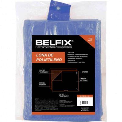 Lona Encerado Polietileno Azul 2X2M Belfix 67600 67600