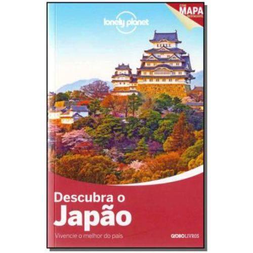 Lonely Planet - Descubra o Japão - com Mapa