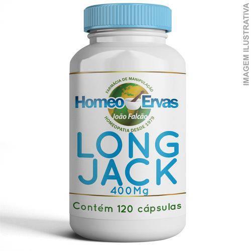 Long Jack 400mg 120 Cápsulas