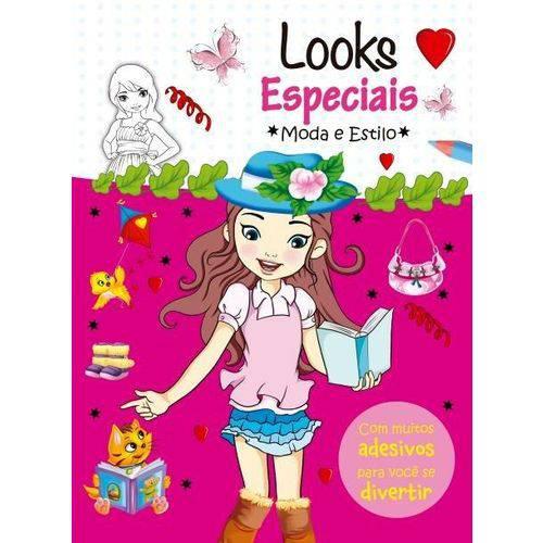 Looks Especiais - com Muitos Adesivos para Você se Divertir