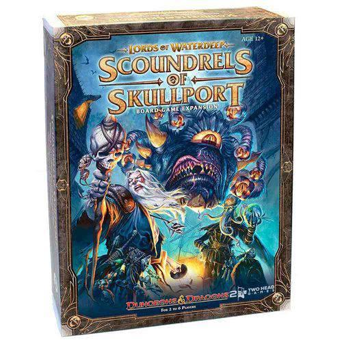 Lords Waterdeep Scoundrels Of Skullport Expansão Board Game