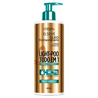 L'Oréal Paris Elseve Light-Poo Óleo Extraordinário - Shampoo de Tratamento 400ml
