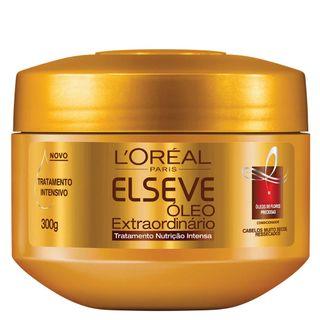 L'Oréal Paris Elseve Óleo Extraordinário Nutrição Intensa - Creme de Tratamento 300g