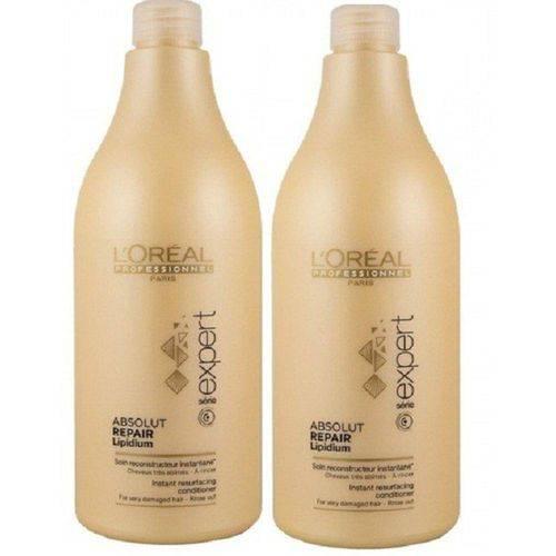 Loreal Professionnel Absolut Repair Lipidium Kit Shampoo 1,5l * Condicionador 1,5l