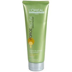 L'Oréal Professionnel Force Relax Nutri-Control - Creme de Pentear 250ml - L'Oréal Professionnel Force Relax Nutri-Control - Condicionador 300ml