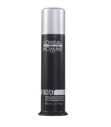 Loreal Profissional Homme Mat Force 4 Pasta Modeladora 80ml