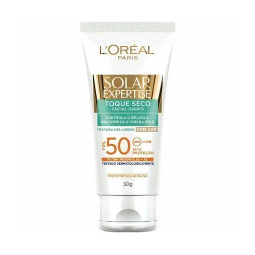 Loreal Solar Expertise Fps50 Protetor Solar Facial Toque Seco 50g