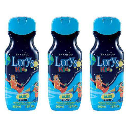 Lorys Kids Blue Shampoo 500ml (kit C/03)