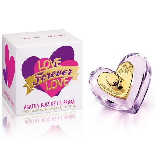 Love Forever Love Agatha Ruiz de La Prada Eau de Toilette Feminino 50 Ml
