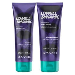 Lowell Dynamic Kit - Shampoo + Condicionador Kit