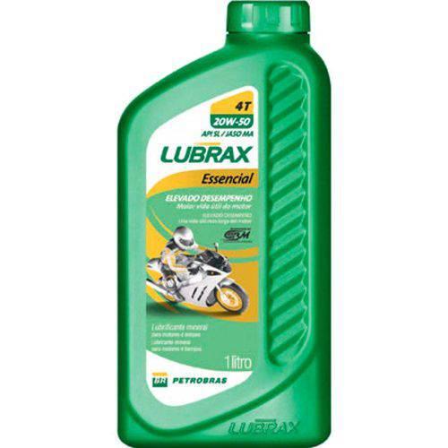 Lubrax 20w50 Essencial Moto 4t Sl Mineral 1l