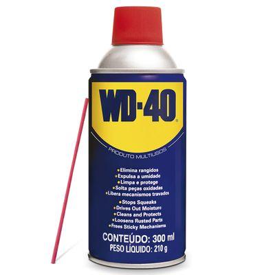 Lubrificante e Desengripante Aerossol Multiusos WD-40 - 300ml
