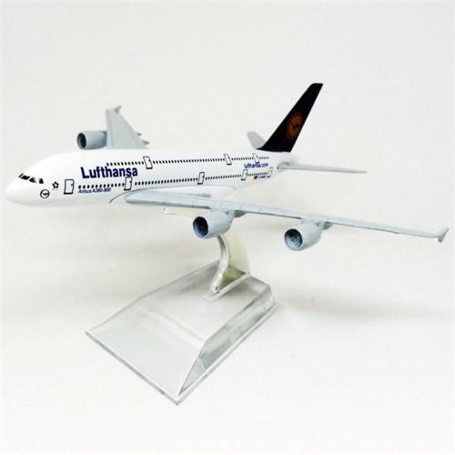 Lufthansa Airbus A380 HB Toys Minimundi.com.br