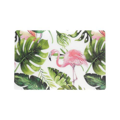 Lugar Americano em Plástico Lyor Flamingo 43,5x28,5cm