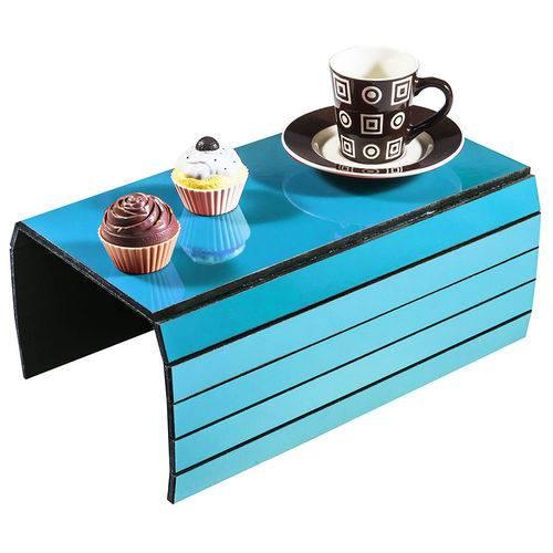 Lugar Americano para Sofá Liso - 40x30 Cm - Laminado Azul