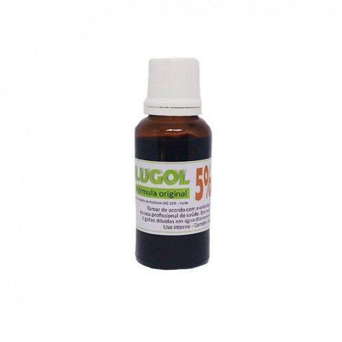Lugol 5% - Iodo Inorgânico com 30 Ml