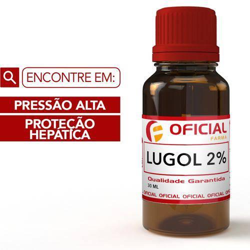 Lugol 2% Iodo Inorgânico 30 Ml