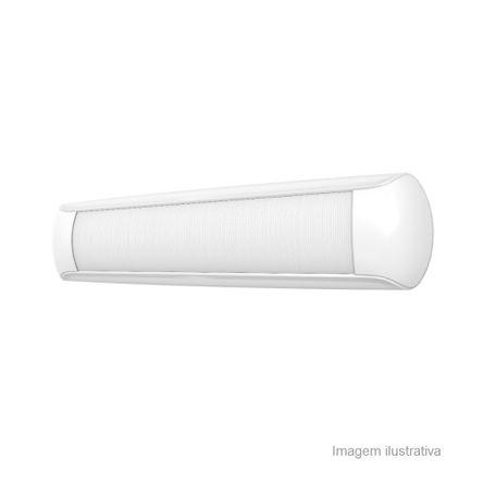 Luminária Calha Aplikled 40W Branca Bivolt Osram