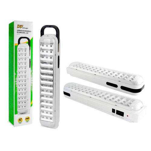 Luminaria de Emergencia Recarregavel 42 LEDs Dp-714