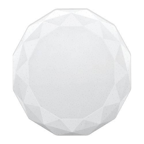 Luminária Led Diamante 3000k 12w Bivolt 48lds12msh00 Elgin