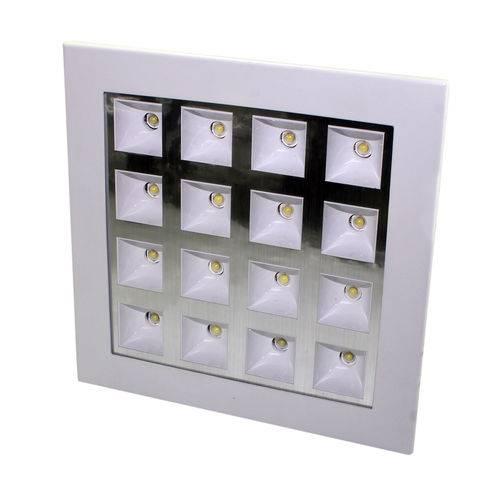Luminária Led Embutir 16w Luz Branca 85-265vca Flu-20-209-16w