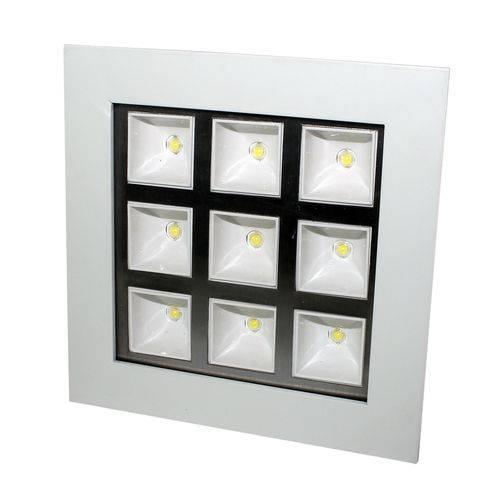 Luminária Led Embutir 9w Luz Branca 85-265vca Flu-20-208-9w