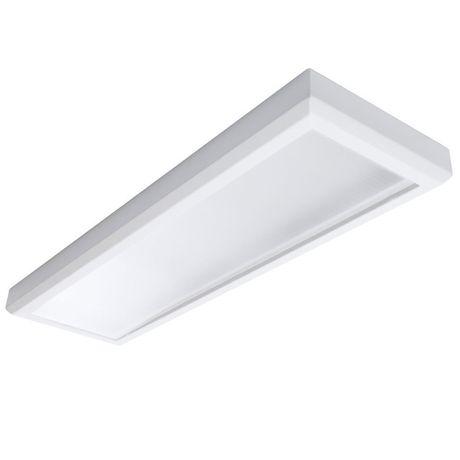 Luminária Painel Plafon Smart Led 48w Sobrepor 120cm X 30cm Branco Frio
