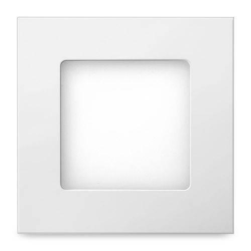 Luminária Led Quadrada de Embutir 6w 2700k Bivolt 48d6weqbm000 Elgin